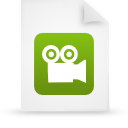 file document paper green g9948 Png Icon