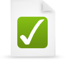 file document paper green g9959 Png Icon