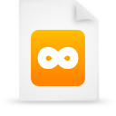 file document paper orange g11788 Png Icon