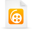 file document paper orange g12008 Png Icon