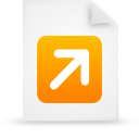 file document paper orange g12771 Png Icon