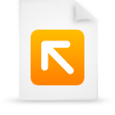 file document paper orange g12823 Png Icon