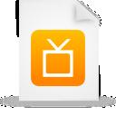 file document paper orange g12896