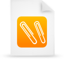 file document paper orange g12946 Png Icon