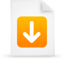 file document paper orange g13247 Png Icon