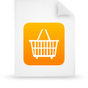 file document paper orange g13303 Png Icon