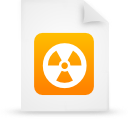 file document paper orange g13443 Png Icon