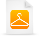 file document paper orange g13861 Png Icon