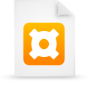 file document paper orange g14039 Png Icon