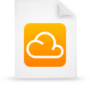 file document paper orange g14303 Png Icon