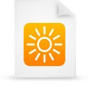 file document paper orange g14326 Png Icon