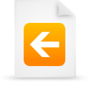 file document paper orange g14808 Png Icon