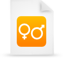 file document paper orange g14881 Png Icon