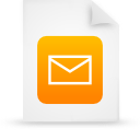 file document paper orange g14977 Png Icon
