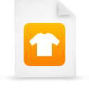 file document paper orange g16069 Png Icon