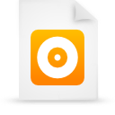 file document paper orange g16265 Png Icon