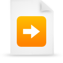 file document paper orange g16483 Png Icon