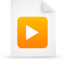 file document paper orange g17169 Png Icon