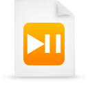 file document paper orange g17181 Png Icon