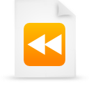 file document paper orange g17253 Png Icon