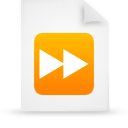 file document paper orange g17308 Png Icon