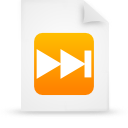 file document paper orange g17332 Png Icon