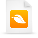 file document paper orange g18359 Png Icon