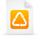 file document paper orange g18935 Png Icon