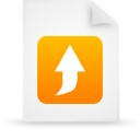 file document paper orange g21034 Png Icon