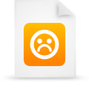 file document paper orange g21251 Png Icon
