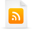 file document paper orange g21573 Png Icon