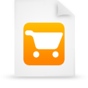 file document paper orange g21761 Png Icon