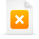 file document paper orange g37966 Png Icon
