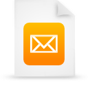 file document paper orange g38856 Png Icon