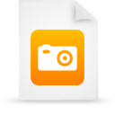 file document paper orange g39046 Png Icon