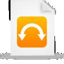 file document paper orange g9806