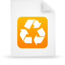 file document paper orange g9937 Png Icon