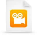 file document paper orange g9948 Png Icon
