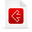 file document paper red g11530 Png Icon