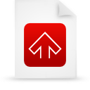 file document paper red g11542 Png Icon