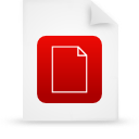 file document paper red g11822 Png Icon