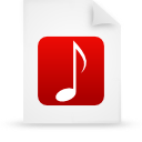file document paper red g11853 Png Icon