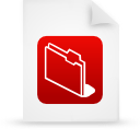 file document paper red g11856 Png Icon