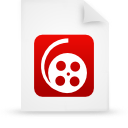 file document paper red g12008 Png Icon