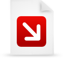 file document paper red g12542 Png Icon