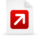 file document paper red g12771 Png Icon