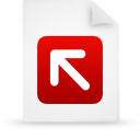 file document paper red g12823 Png Icon