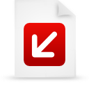 file document paper red g12874 Png Icon