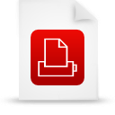 file document paper red g12875 Png Icon