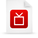 file document paper red g12896 Png Icon